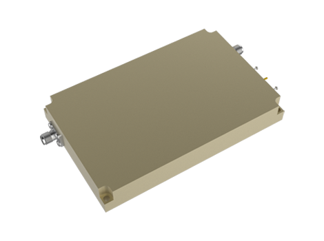 40dBm Power Amplifier From 2 to 18 GHz with 40dB Gain 38dBm P1dB