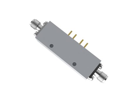 Field Replaceable SMA SPST PIN Diode Switch Absorptive From 2 to 18 GHz at +27 dBm